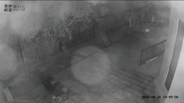 摄像头夜视红外反光故障图片