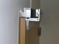 门禁磁力锁内开门安装方法与视频图解