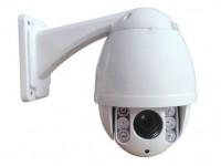 监控系统中高速球安装场景与定点监控摄像头配合
